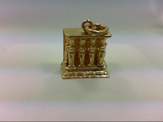 Gold Charm 18K Yellow Gold 2g