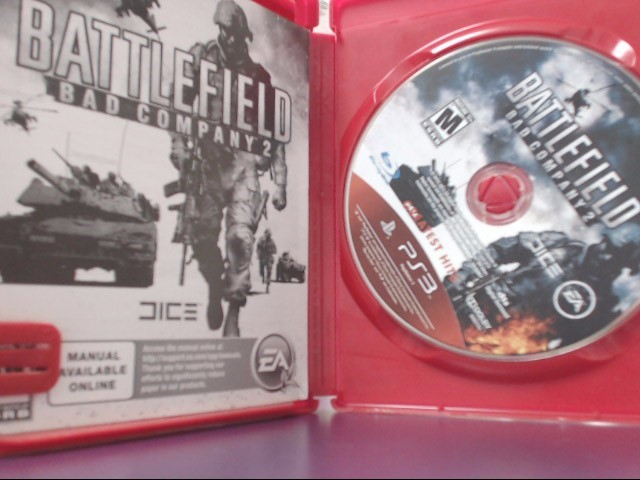 Battlefield: Bad Company 2 Greatest Hits (Sony Playstation 3, 2011)