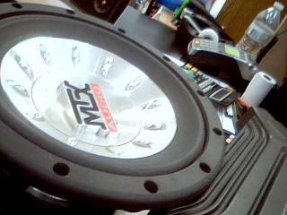 MTX AUDIO Car Speakers/Speaker System THUNDER 8000 SINGLE SUBWOOFER