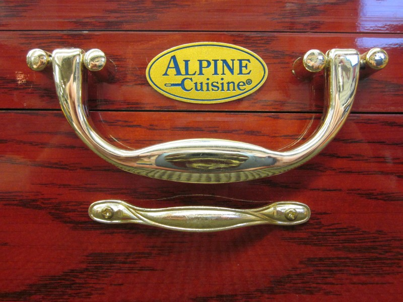 alpine cuisine flatware d665 84g very good buya