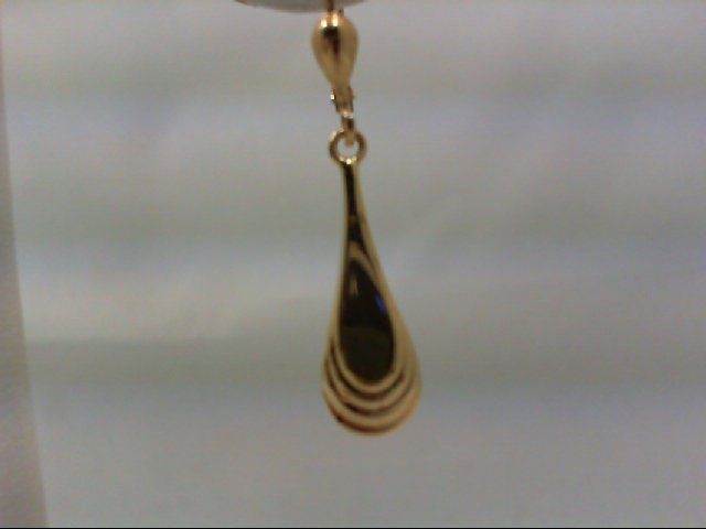 Gold Earrings 18K Yellow Gold 2.2g