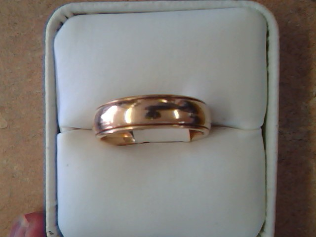 BAND RING JEWELRY , 14KT, 8.50 G