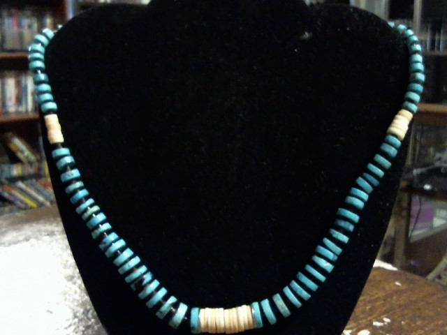Turquoise Stone Necklace 31dwt