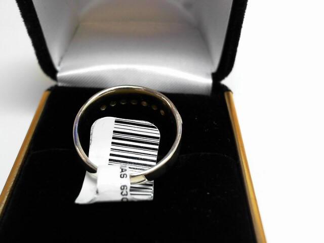 Gent's Diamond Cluster Ring 7 Diamonds .63 Carat T.W. 14K Yellow Gold 3.5dwt
