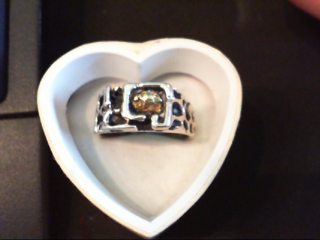 Gent's Silver Ring 925 Silver 8.2g