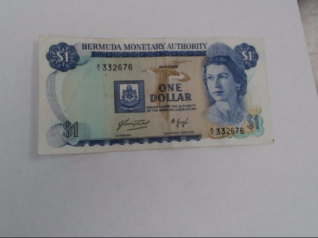 BERMUDA Paper Money - World