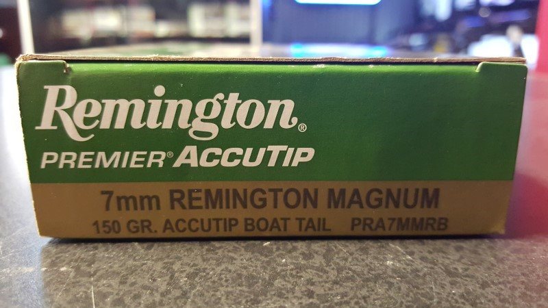 REMINGTON FIREARMS Ammunition 7MM MAGNUM 20RD AMMO