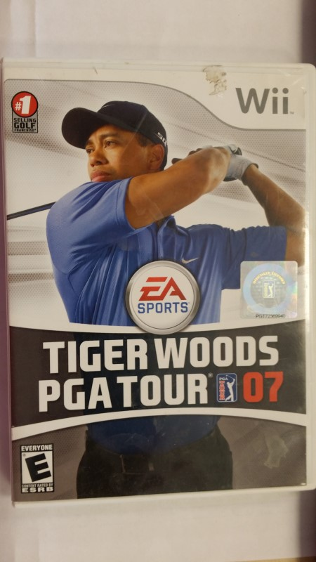 NINTENDO Nintendo Wii TIGER WOODS PGA TOUR 07