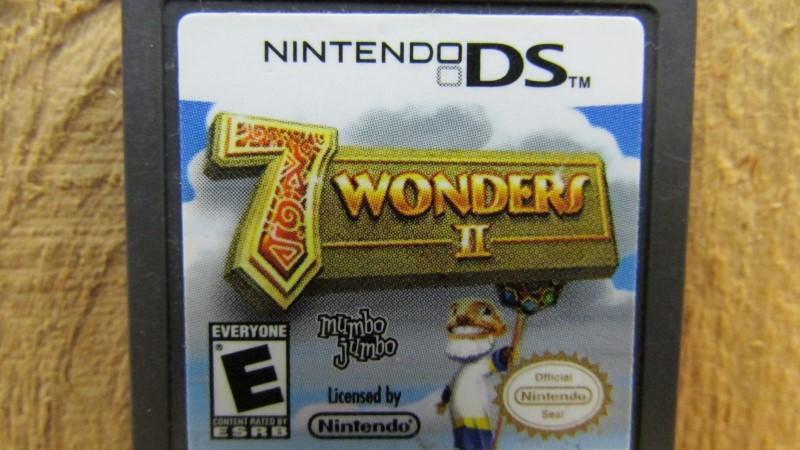 NINTENDO Nintendo DS 7 WONDERS II