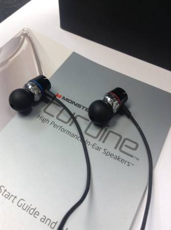 MONSTER Headphones TURBINE