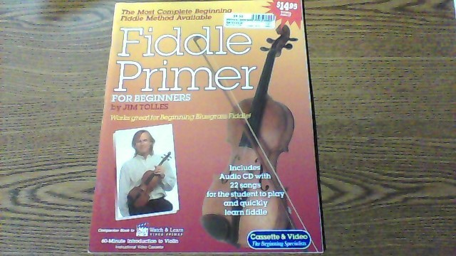 WATCH & LEARN Non-Fiction Book FIDDLE PRIMER BOOK