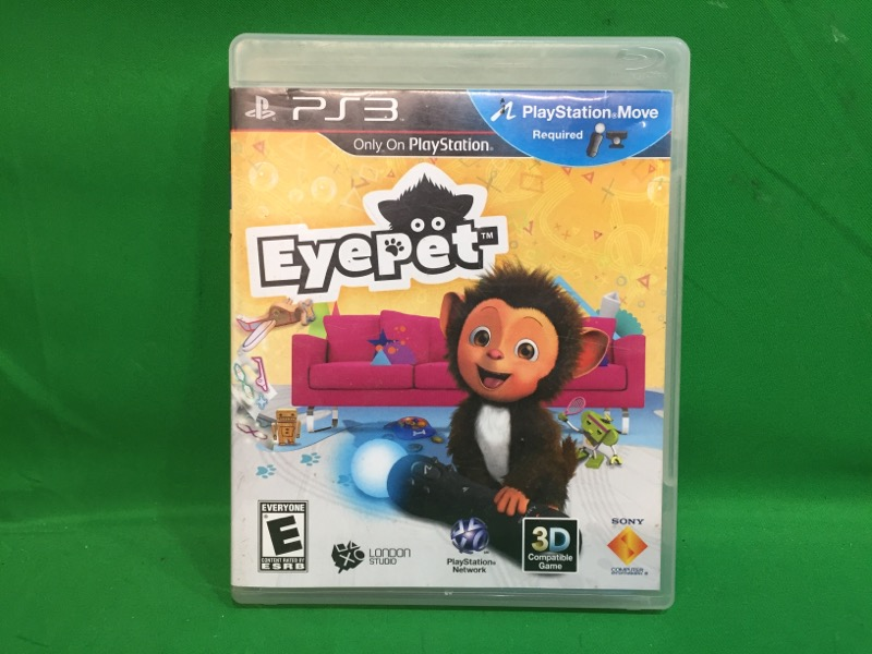SONY Sony PlayStation 3 Game EYE PET