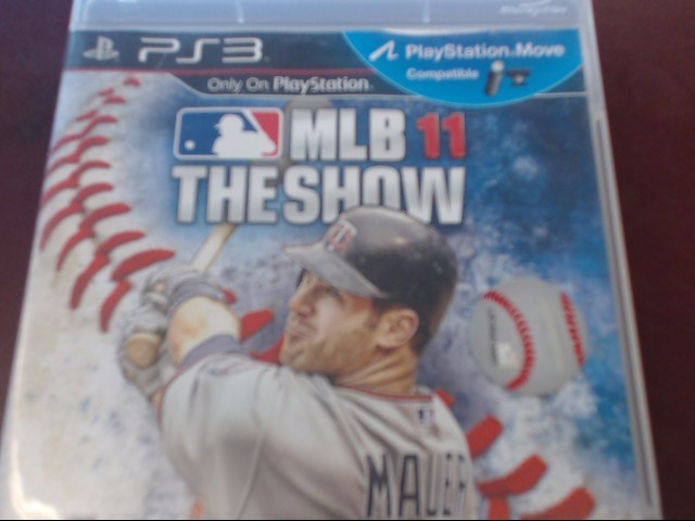 SONY PS3 MLB THE SHOW 11