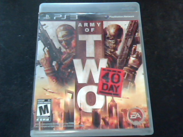 SONY Sony PlayStation 3 ARMY OF TWO 40TH DAY