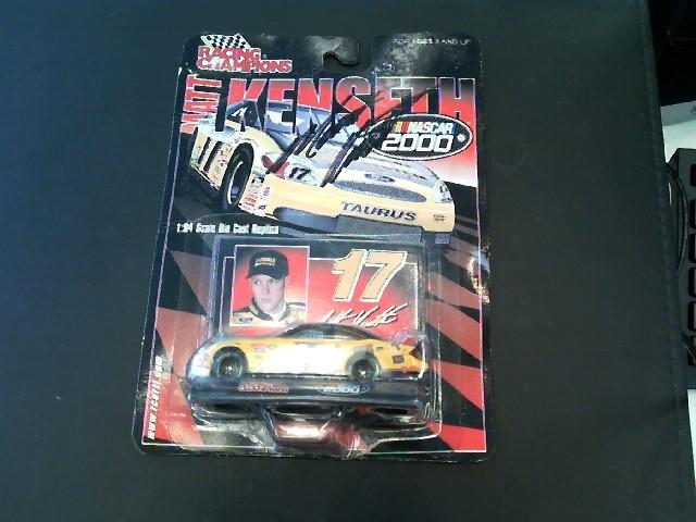 RACING CHAMPIONS AUTOGRAPHED MATT KENSETH TOY NASCAR RACE CAR