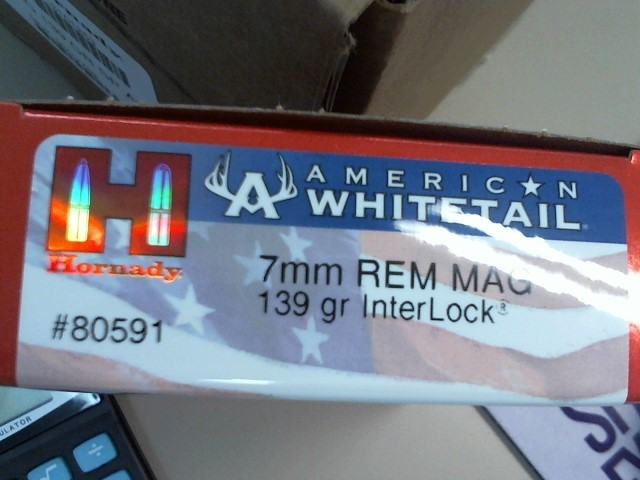 HORNADY AMERICAN WHITETAIL 7MM-08REM