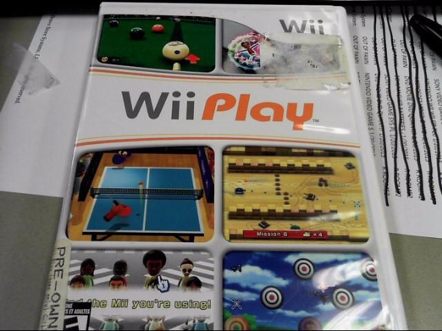 NINTENDO Nintendo Wii WII PLAY MOTION