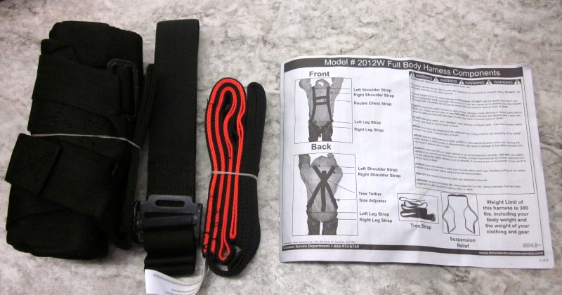 SAFETY HARNESS MODEL 2012W