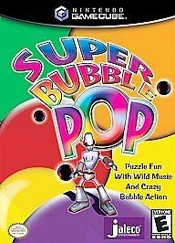 NINTENDO Nintendo GameCube Game SUPER BUBBLE POP GAMECUBE