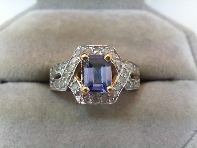 Lady's Diamond Fashion Ring 34 Diamonds .34 Carat T.W. 10K Yellow Gold 3.5g