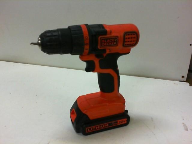 BLACK & DECKER Cordless Drill LDX-120