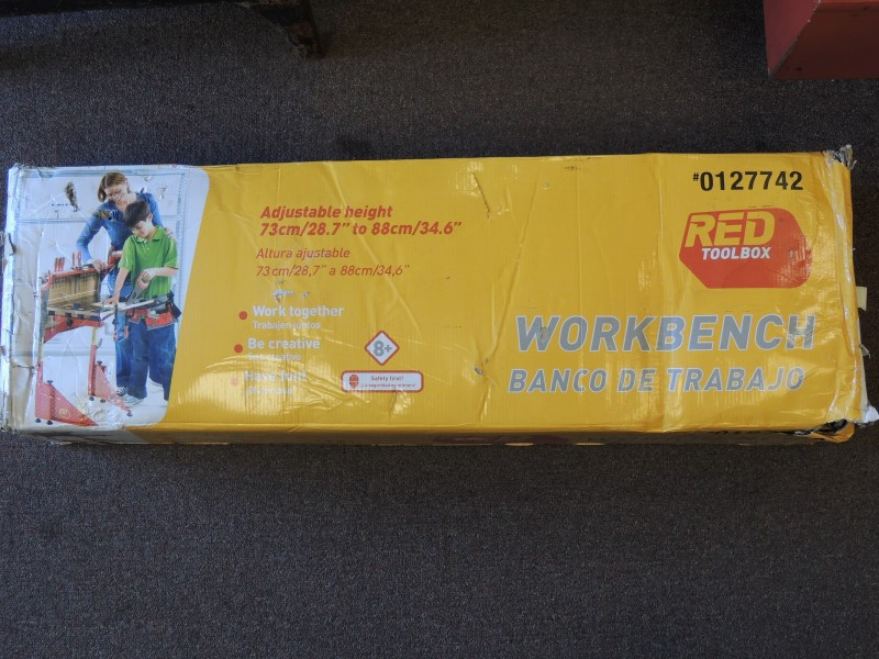 RED TOOLBOX WORKBENCH 0127742