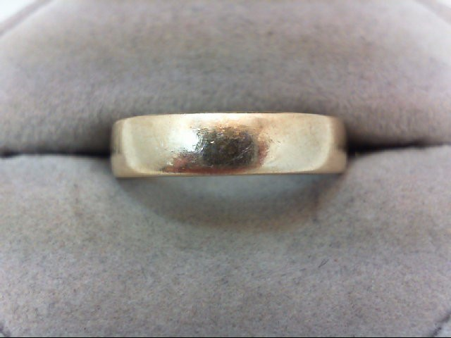 Gent's Gold Wedding Band 10K Yellow Gold 3.1g Size:9