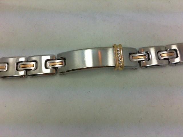 Bracelet Black Stainless 60.4g