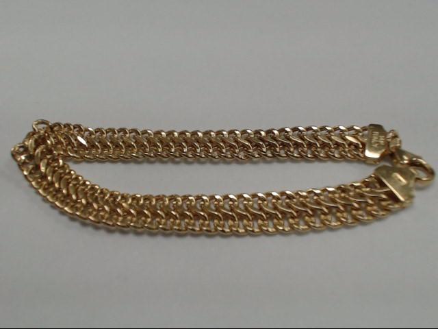Gold Bracelet 14K Yellow Gold 6.3g
