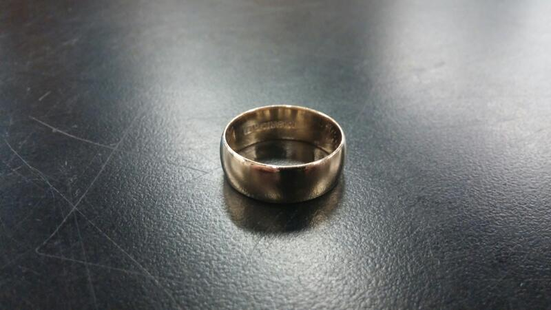 Gent's Gold Ring 14K Yellow Gold 3.9dwt Size:10
