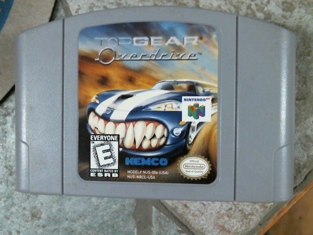 NINTENDO Nintendo 64 Game TOP GEAR
