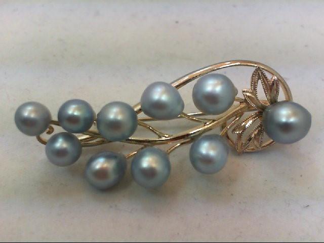 Silver Brooch 925 Silver 9g
