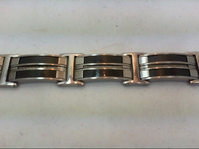 Bracelet Black Stainless 126g