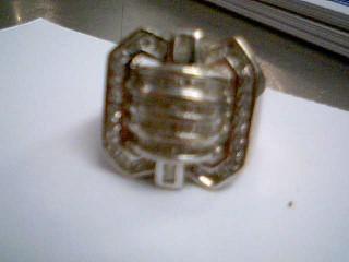 Gent's Diamond Fashion Ring 95 Diamonds 1.22 Carat T.W. 10K White Gold 12g