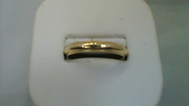 gent's 14k yellow gold sz 12 wed band