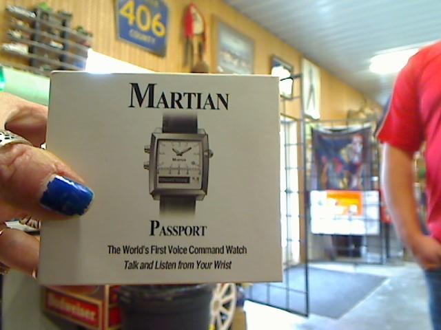 MARTIAN Gent's Wristwatch PASSPORT WATCH