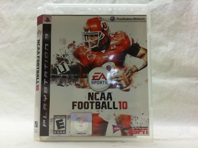 SONY Sony PlayStation 3 Game NCAA FOOTBALL 10