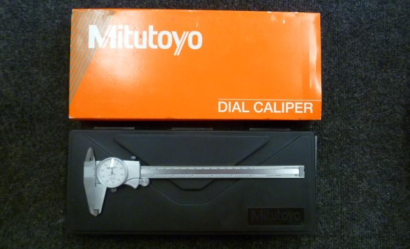 """MITUTOYO 505-676 8"""" DIAL CALIPER"""