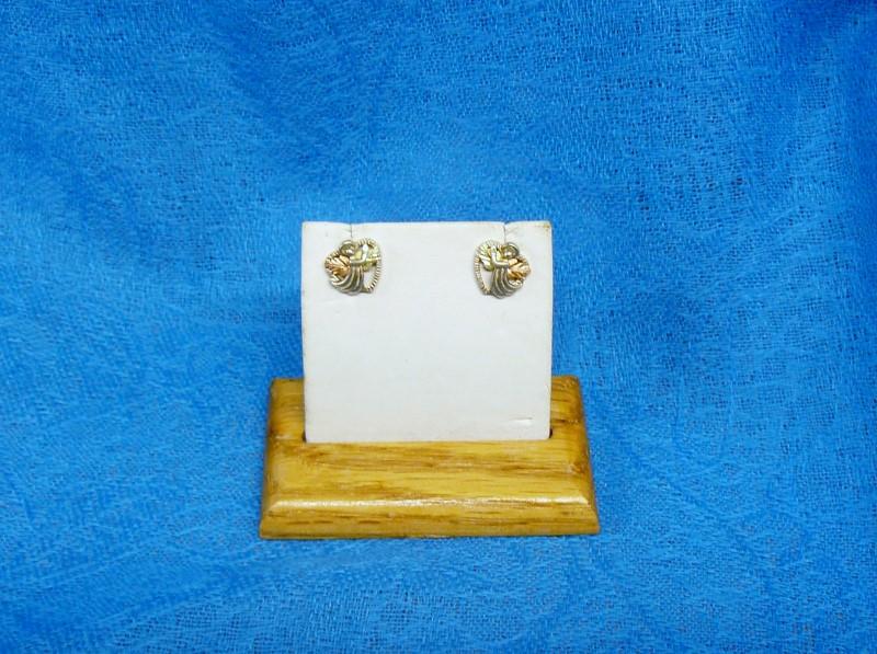 Silver Earrings 925 Silver 1.5dwt
