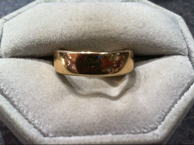 Gent's Gold Wedding Band 14K Yellow Gold 2.5g Size:7