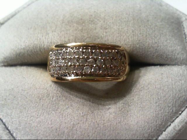 Lady's Diamond Fashion Ring 29 Diamonds .29 Carat T.W. 14K Yellow Gold 4.2g