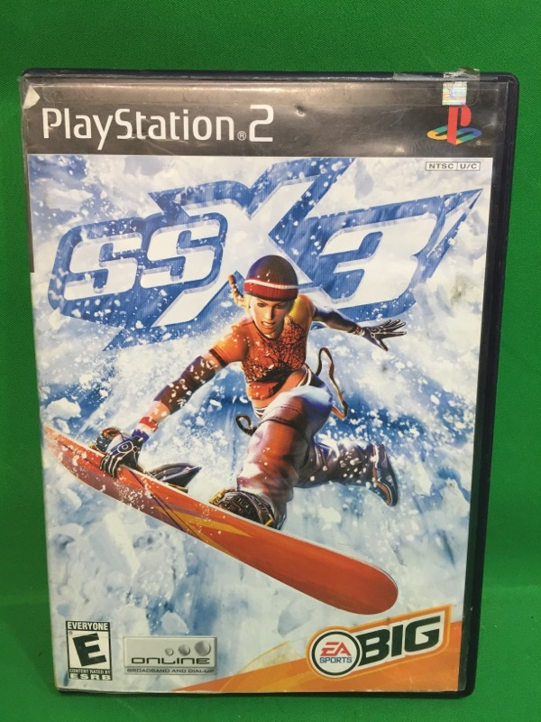SONY Sony PlayStation 2 Game SSX 3: OUT OF BOUNDS