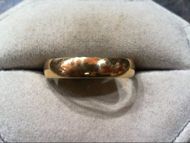 Gent's Gold Wedding Band 14K Yellow Gold 1.8g Size:9