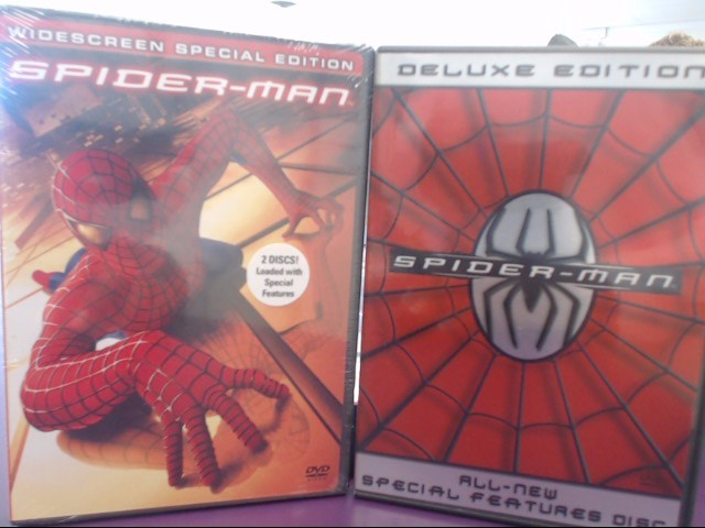 DVD MOVIE DVD SPIDERMAN DELUXE EDITION