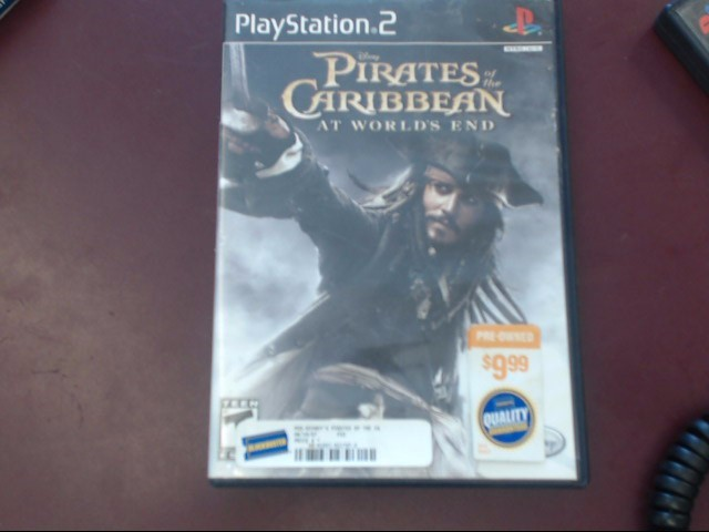 SONY PS2 PIRATES OF THE CARIBBEA