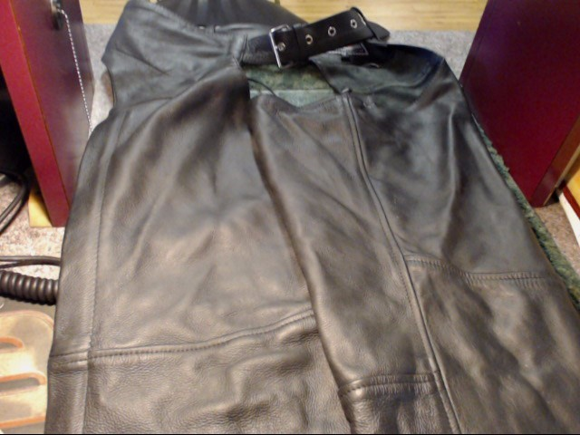 RIVER ROAD Clothing LEATHER CHAPS