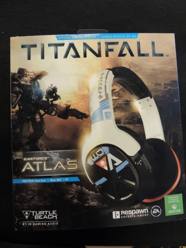 Titanfall Earforce Atlas Headset Turtle Beach Xbox One PC Xbox 360