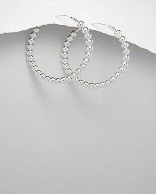 Silver Earrings 925 Silver 5.08g