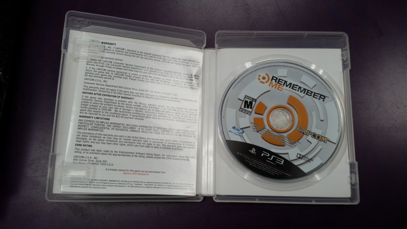 SONY PLAYSTATION 3 PS3 REMEMBER ME