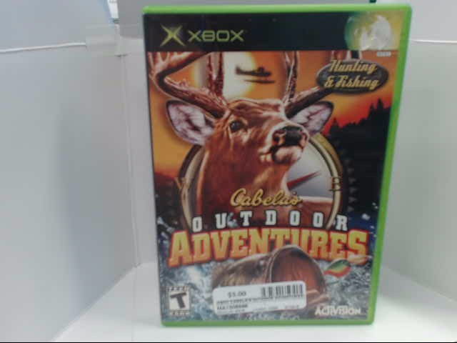 XBOX GAME CABELA'S OUTDOOR ADVENTURES
